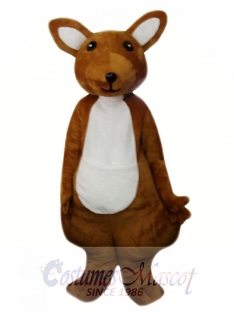 Cute Adult Kangaroo Mascot Costume