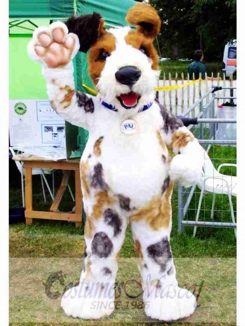 Scruffts Dog Mascot Costume
