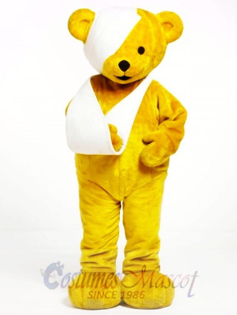 Theo Bear Mascot Costume