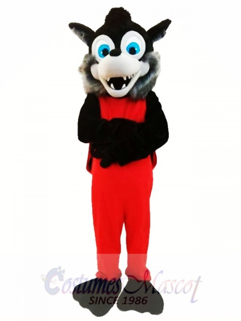 Popular Animal Gray Wolf Mascot Costume