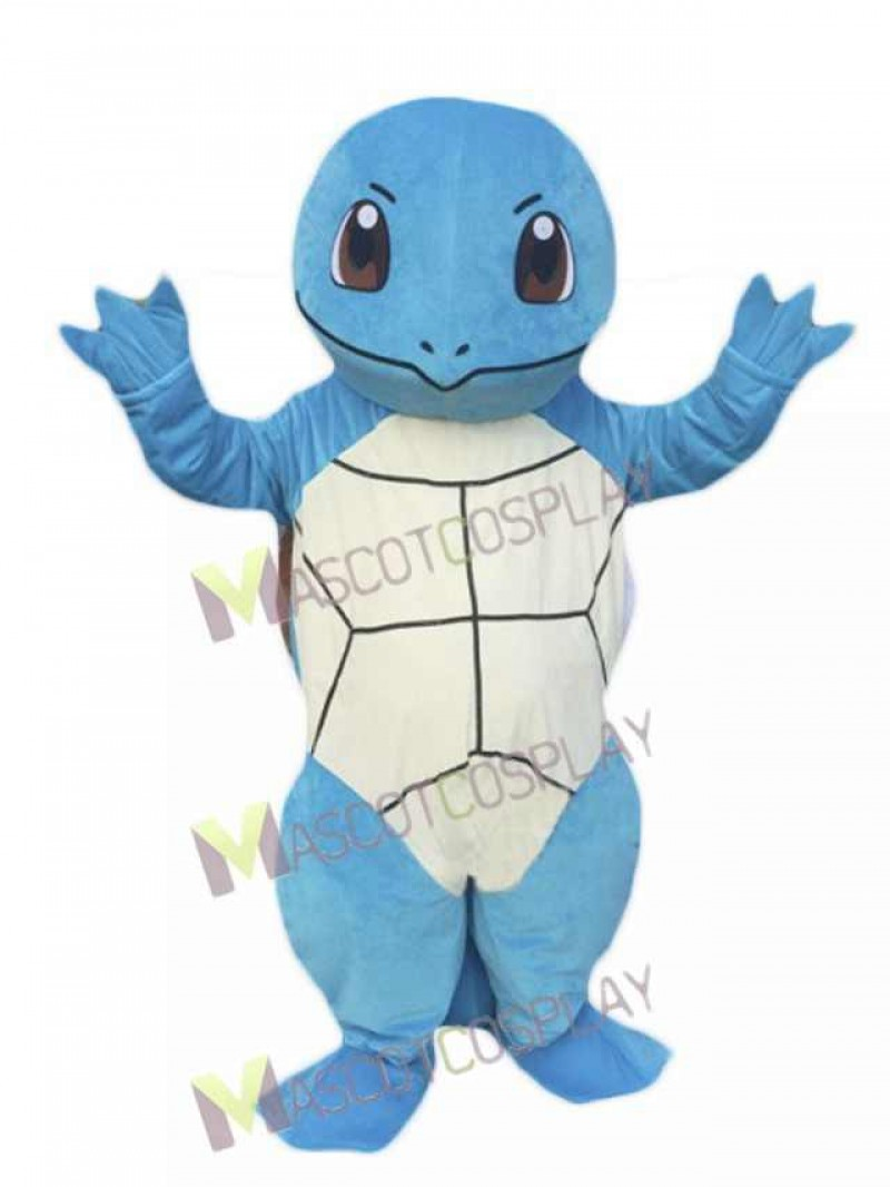 Hot Sale Pokémon Pokemon Go Squirtle Zenigame Mascot Costume Fancy Dress Outfit