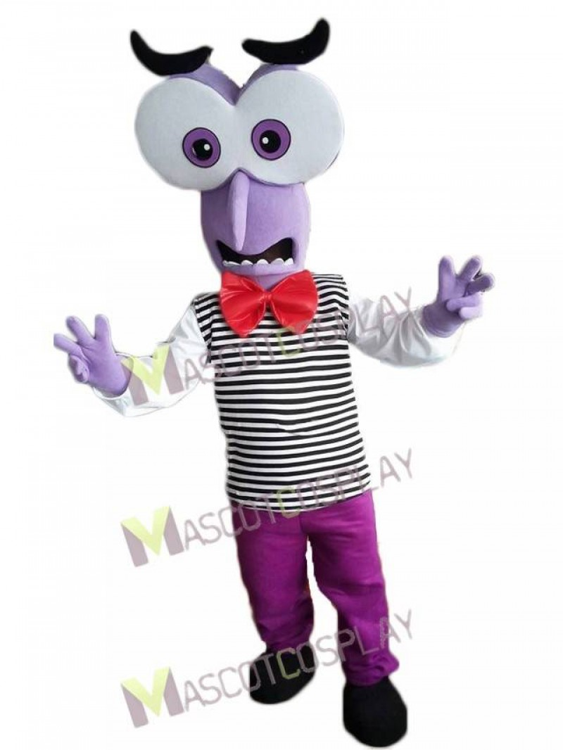 Fear from Inside Out Mascot Costume
