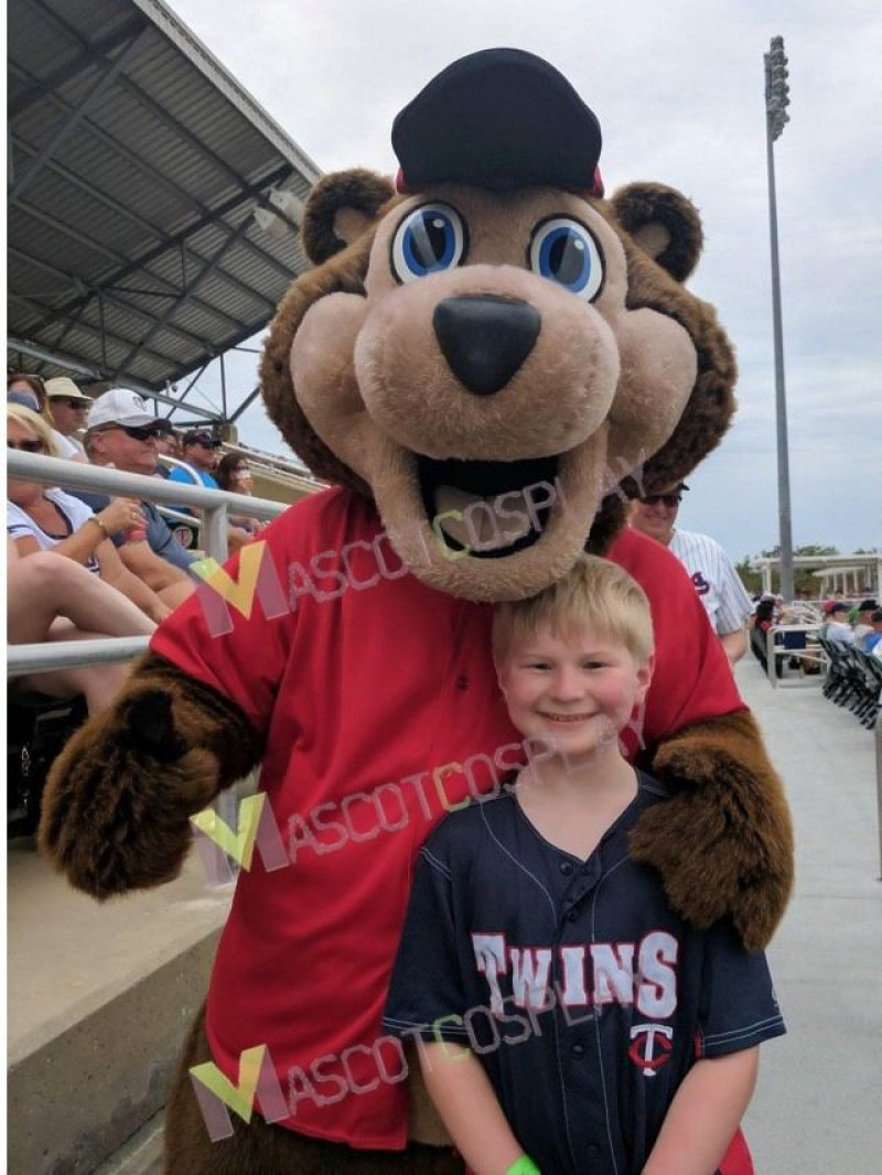 Hot Sale Minnesota Twin Cities T.C. Bear MLB Mascot Costume