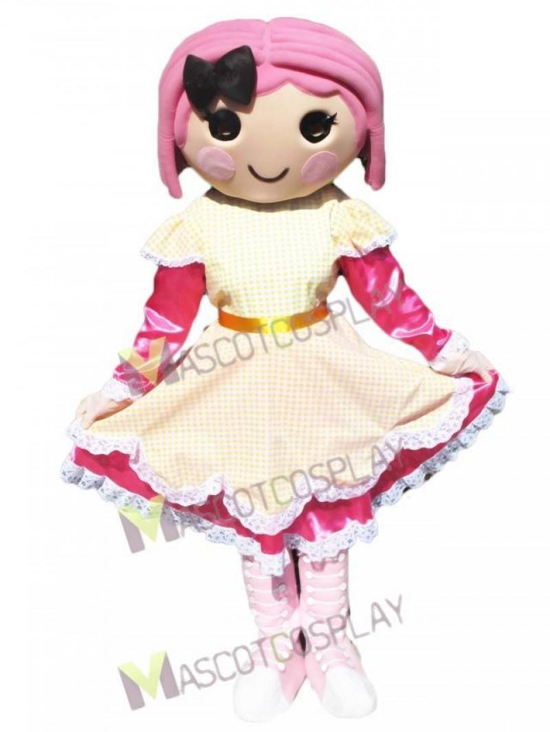 Lalaloopsy Doll Crumbs Sugar Cookie Mascot Costume
