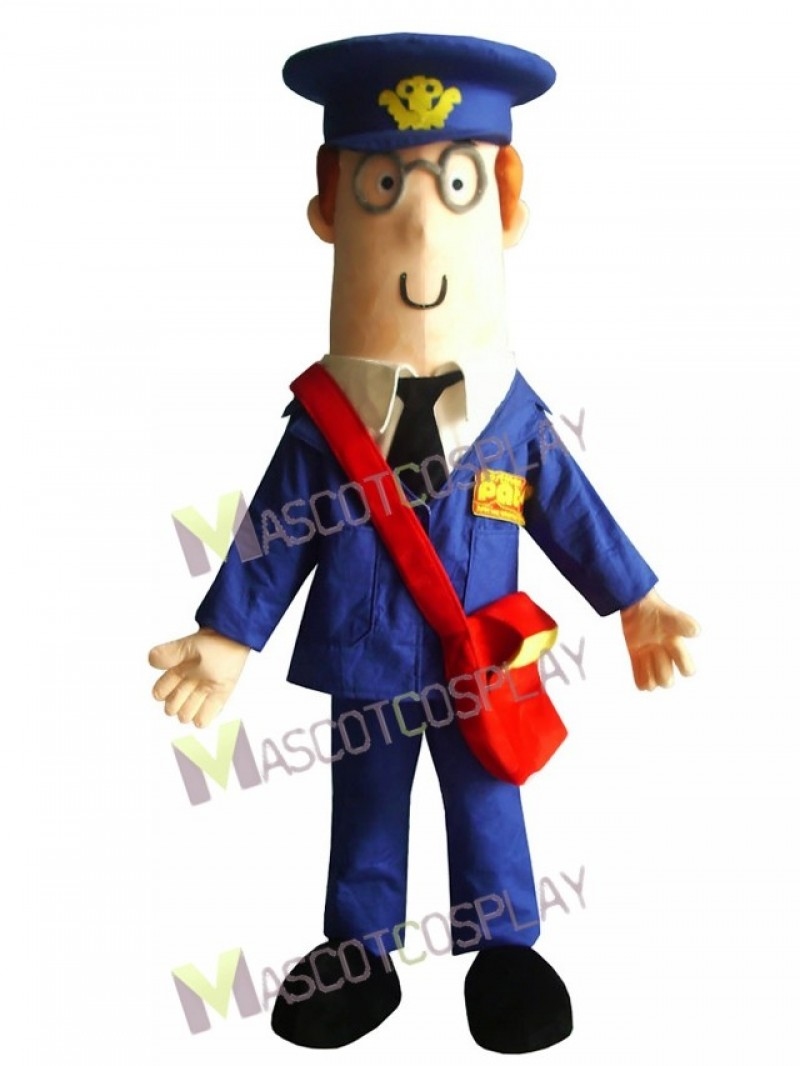Mail Man Postman Mascot Costume