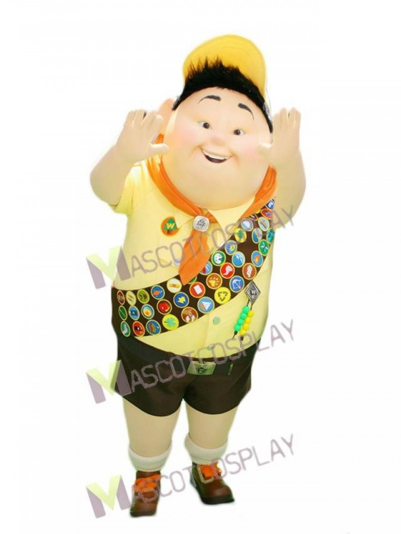 Russel Boy from Up Movie Mascot Costume