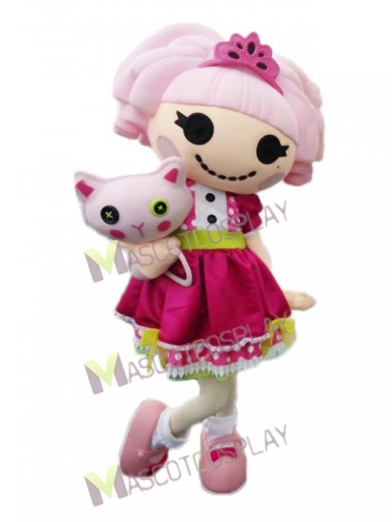 Lalaloopsy Doll Jewel Sparkles Mascot Costume
