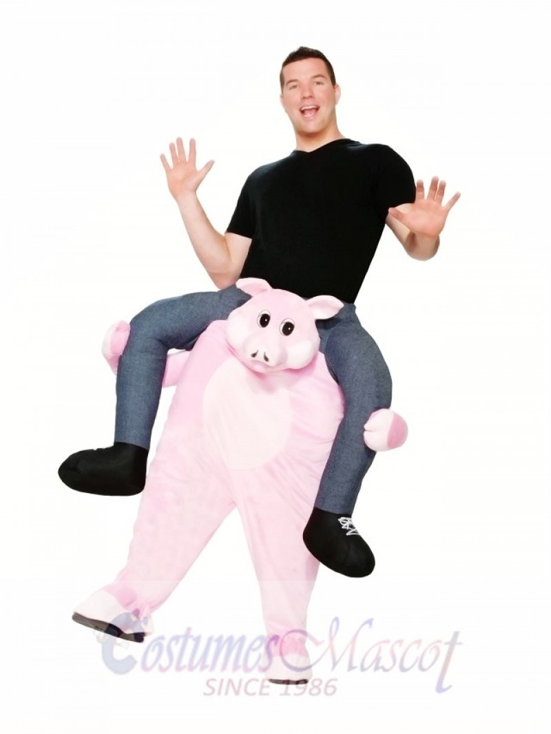 Pig Carry Me Ride a Pig Mascot Costume