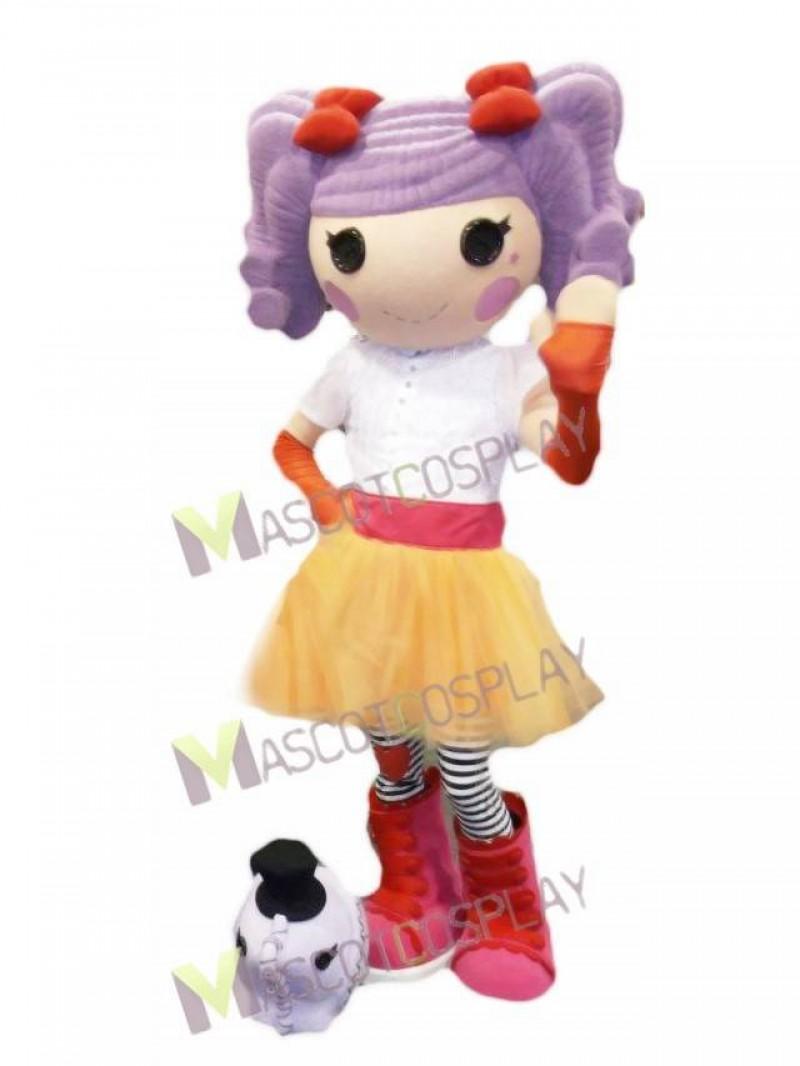 Lalaloopsy Doll Peanut Big Top Mascot Costume