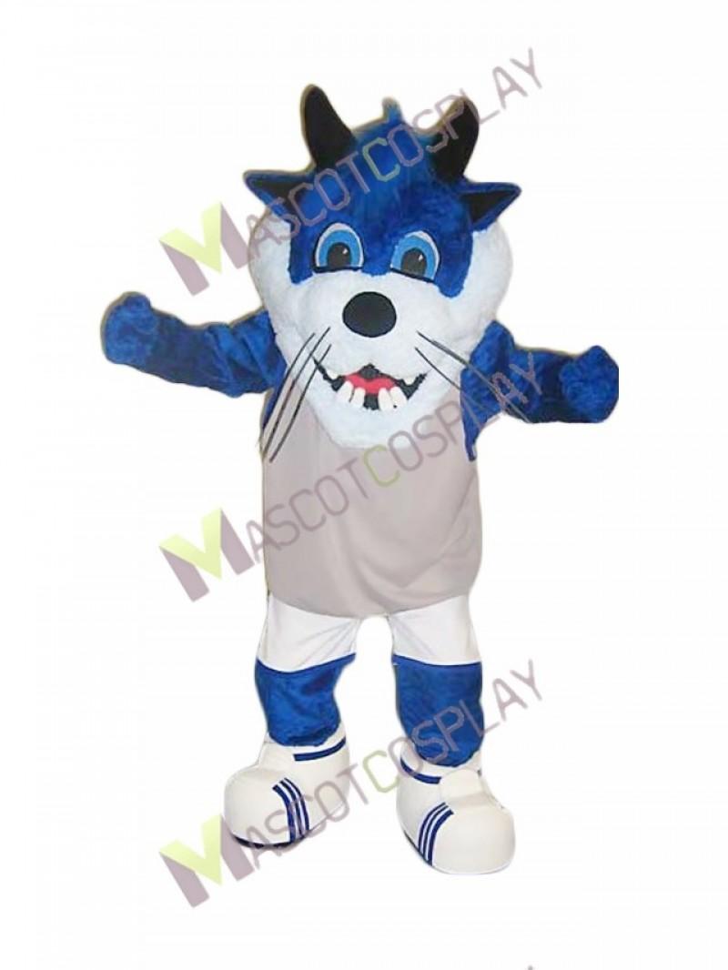 High Quality Blue Taz Monster Mascot Costume