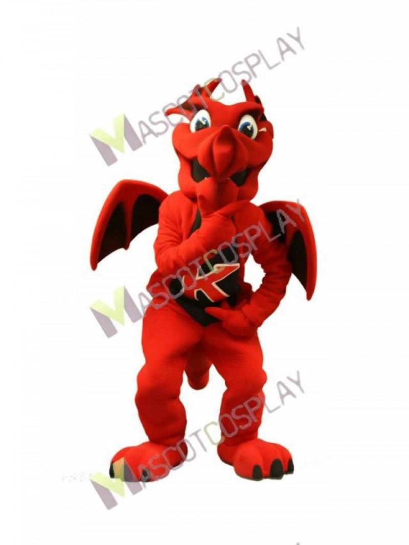 High Quality Adult Charizard Firedragon Red Dragon Mascot Costume