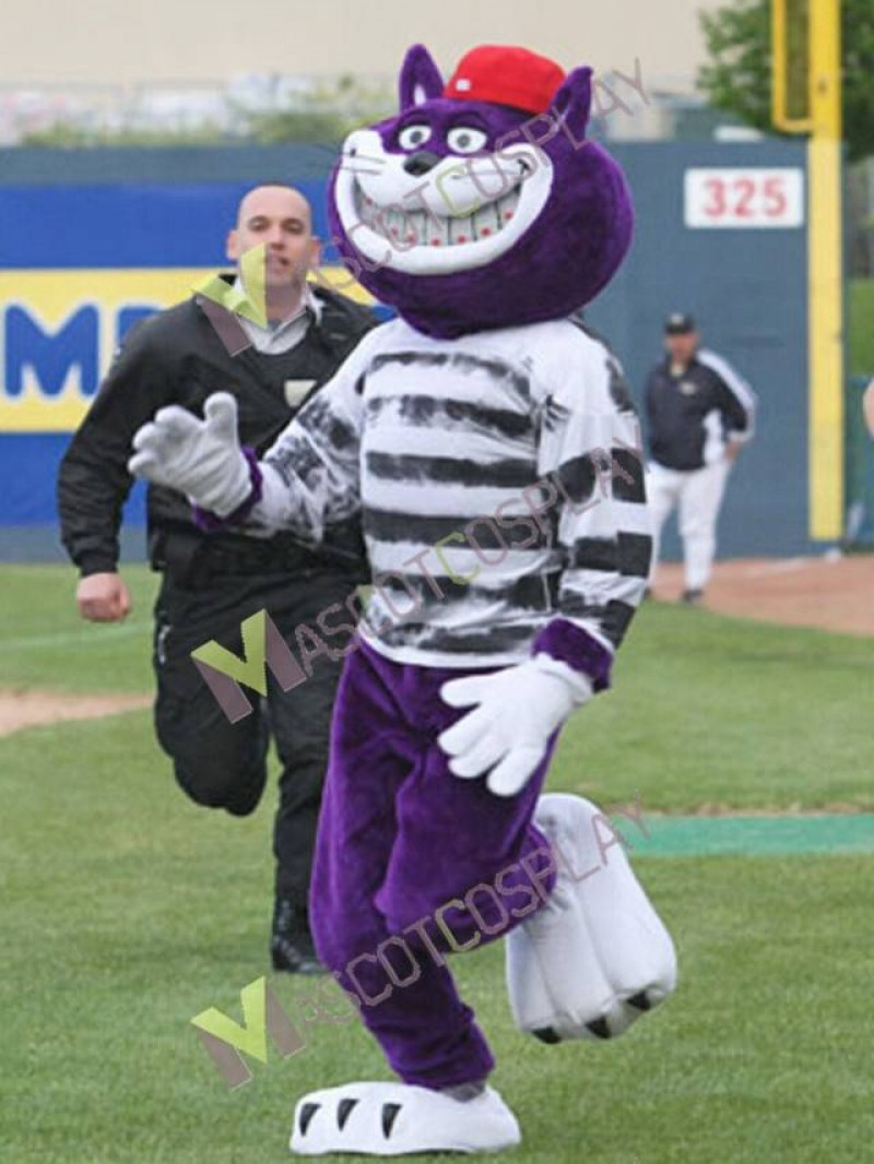Ottawa Fat Cats Mascot Costume Baseball Mascot Costume