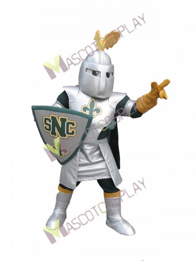 High Quality Adult Knight St Norbert Mascot Costume
