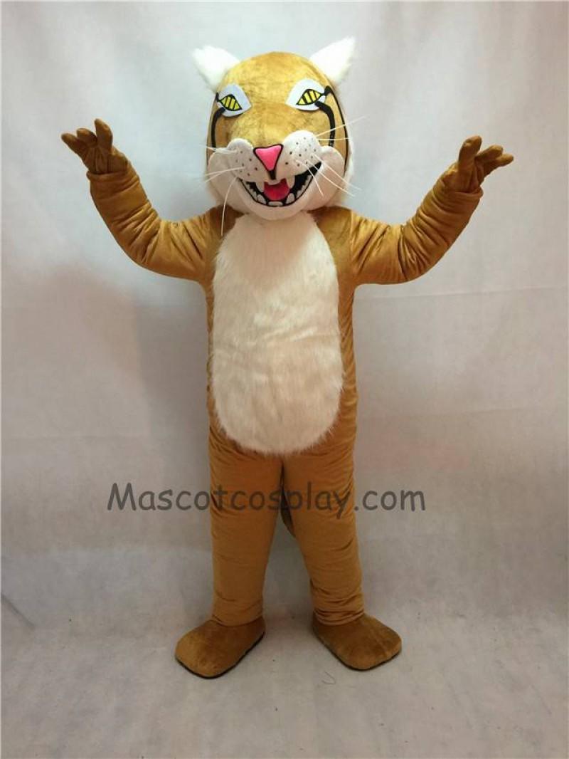 Fierce New Bobcat Mascot Costume
