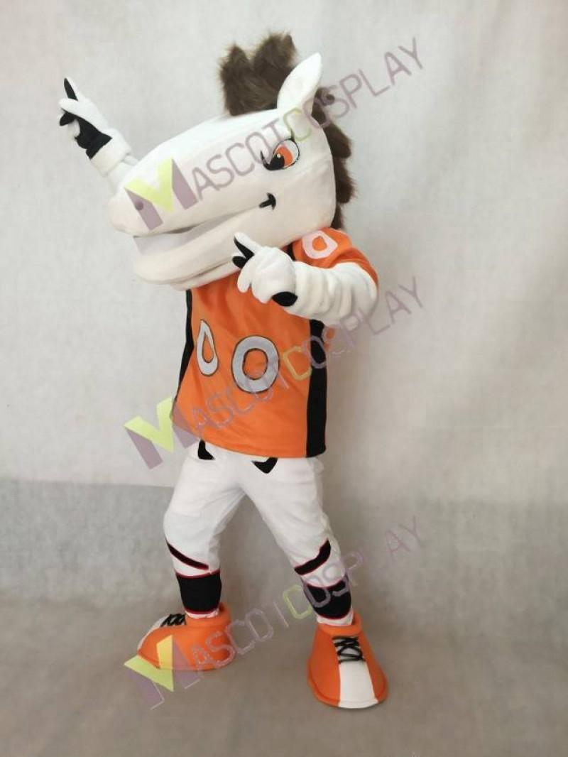 New Mustang Horse Denver Broncos Mascot Costume