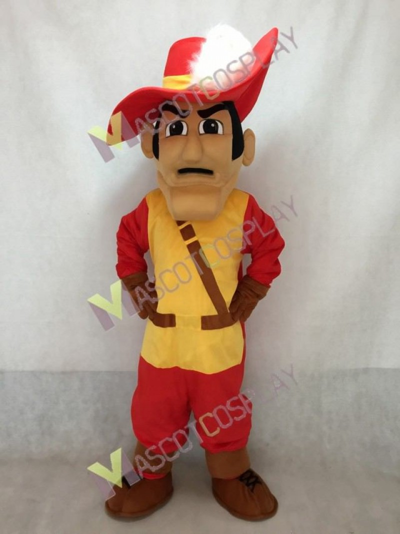 Sir CC The Cleveland Cavs Mascot Costume with Hat