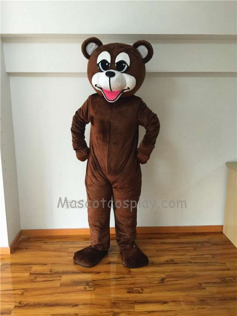 Cute Happy Bear Mascot Costume