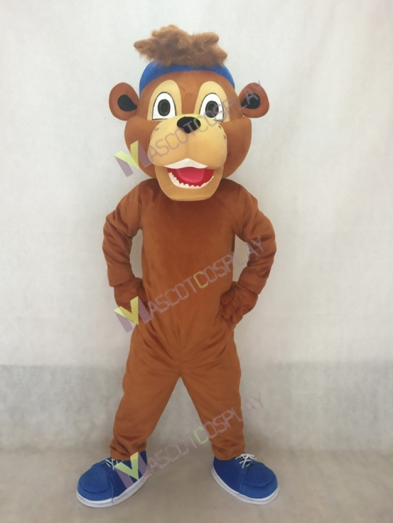 Chicago Cubs Clark The Cub Bear Mascot Costume