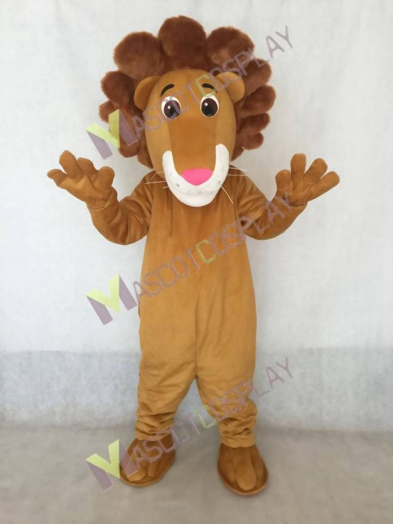 New Proud Louie The Lion Mascot Costume