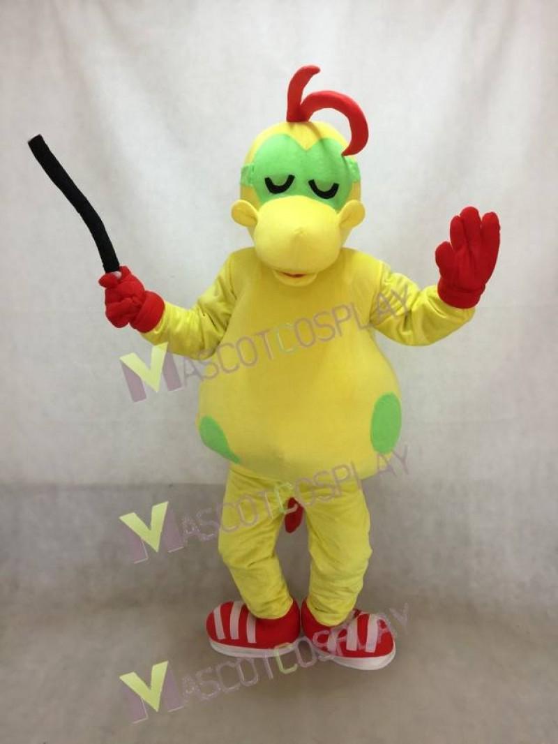 Alphabet Thief Mascot Costume
