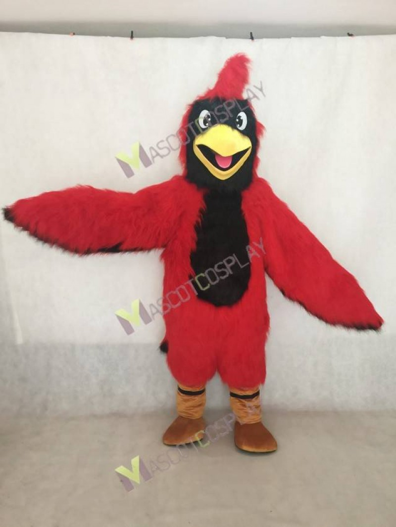 High Quality Adult Red Cardinal Mascot Costume
