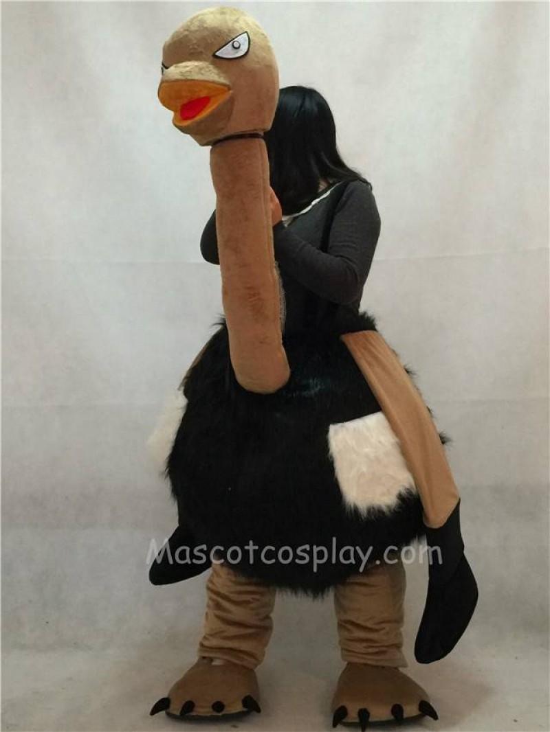 High Quality Adult New Ostrich Walker Mascot Costume