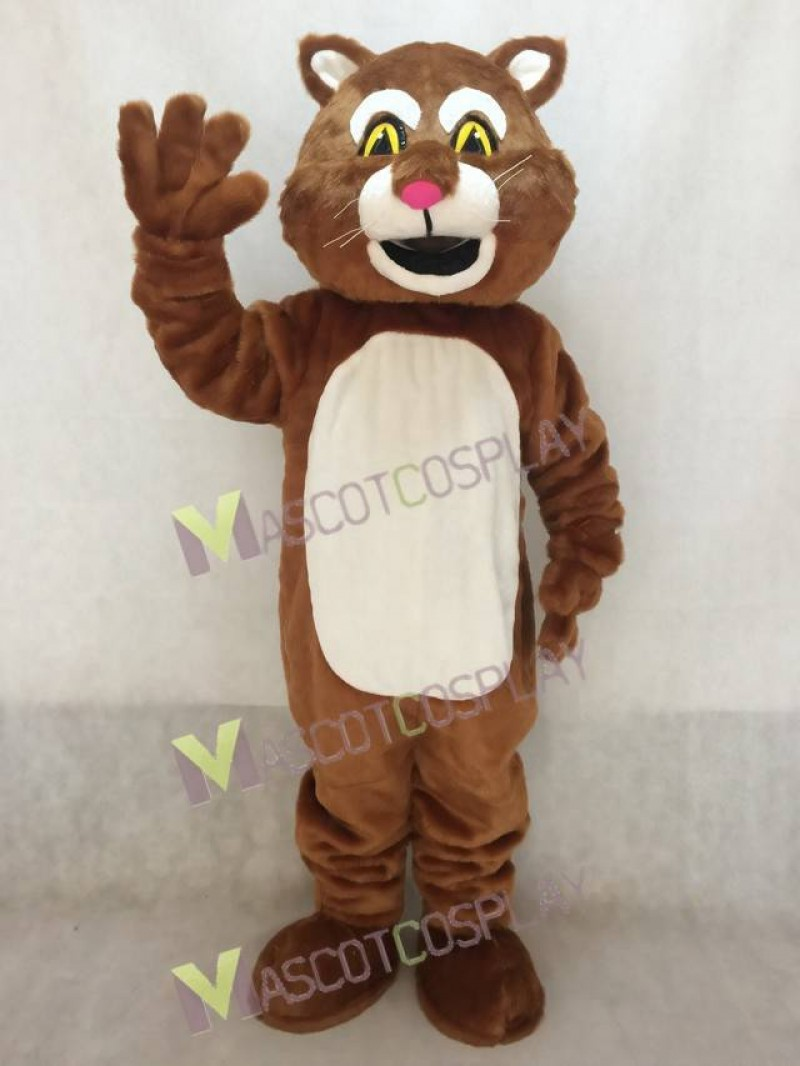 Lovely James the Cat Mascot Costume