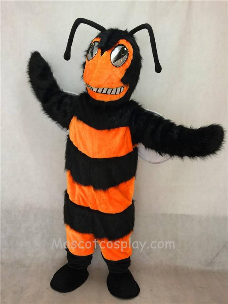 High Quality Adult Orange and Black Bee/Hornet Mascot Costume