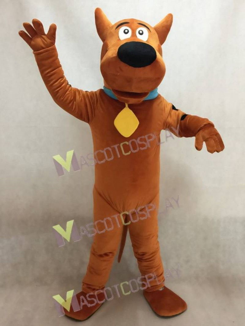 Brown SCOOBY Dog Mascot Costume