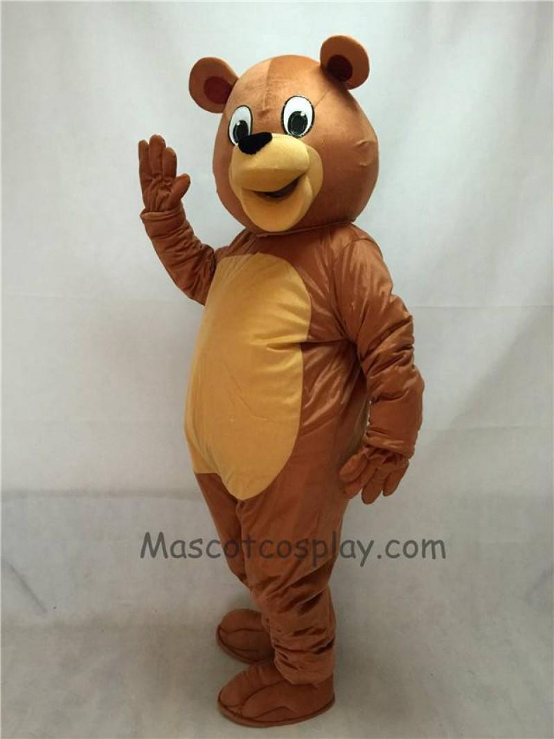 Cute New Honey Bear Mascot Costume