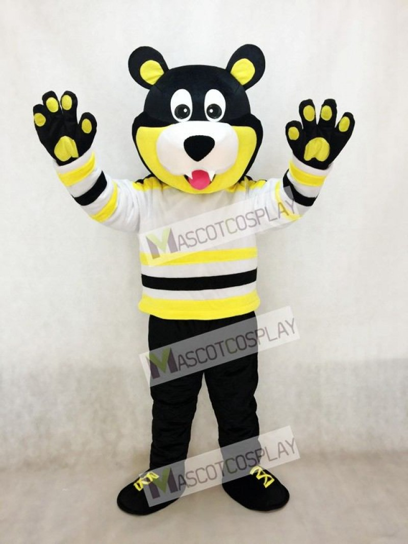 Estevan Bruins Bear Ice Hockey Mascot Costume