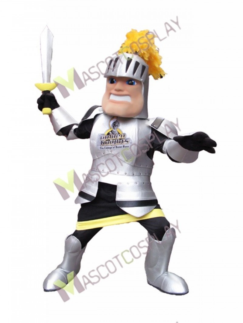 High Quality Adult Knight College of St Rose Mascot Costume