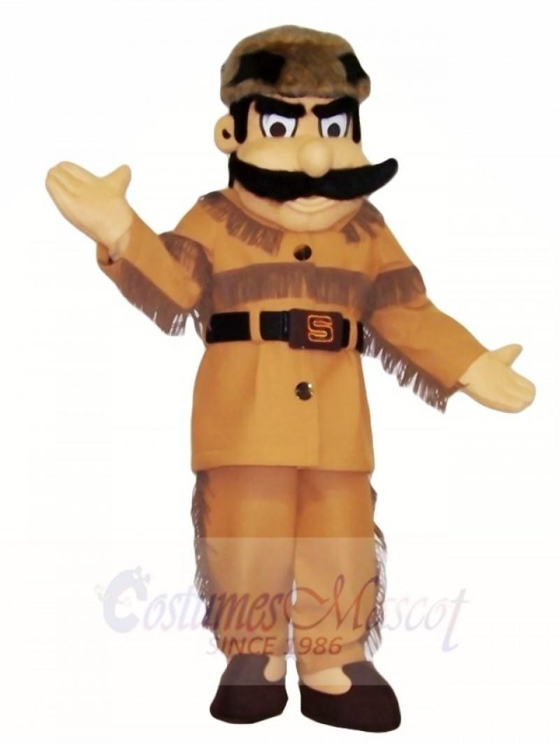 Frontiersman Hunter Mascot Costumes People