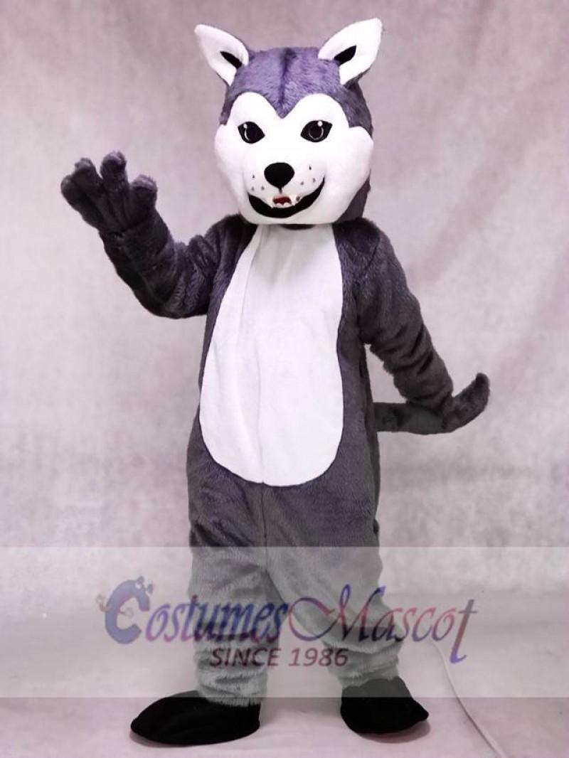 New Lovely Friendly Husky Dog Mascot Costume