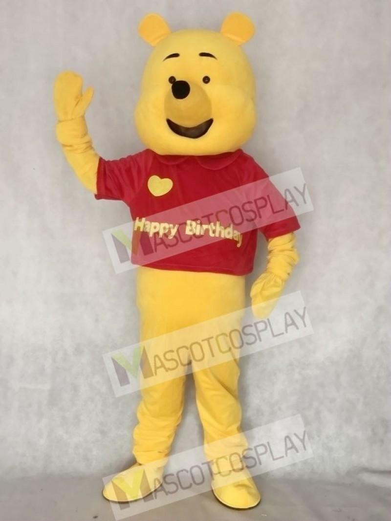 Love Bear Adult Mascot Costume