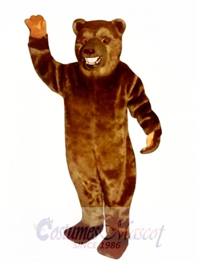 New Snarling Bear Mascot Costume