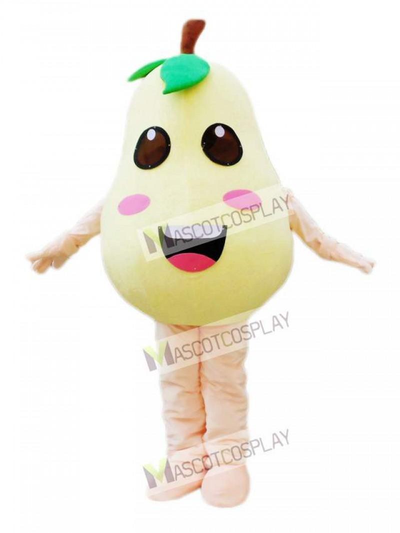 Pear Mascot Costume