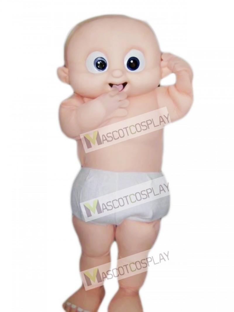 Big Eyes Baby Mascot Costume