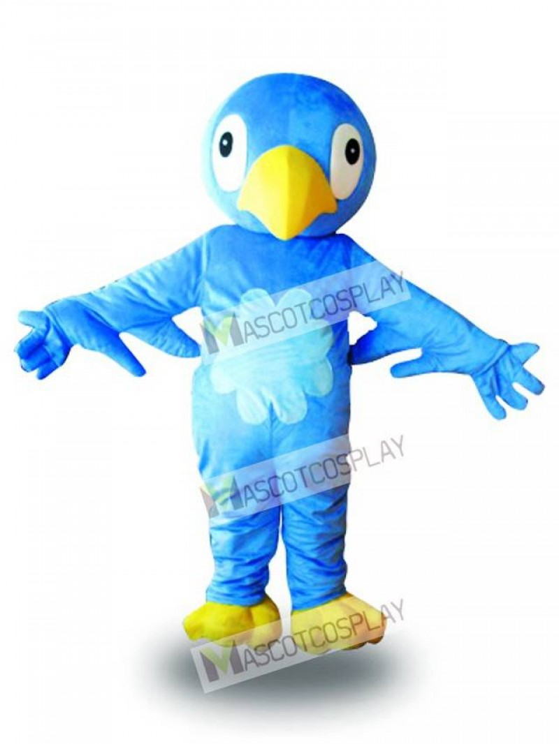 Blue Bird Mascot Costume
