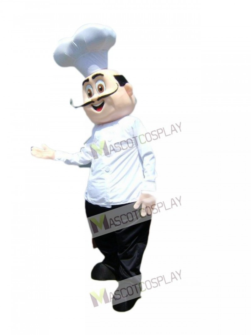 Restaurant Promotion Chef Cook Mascot Costume