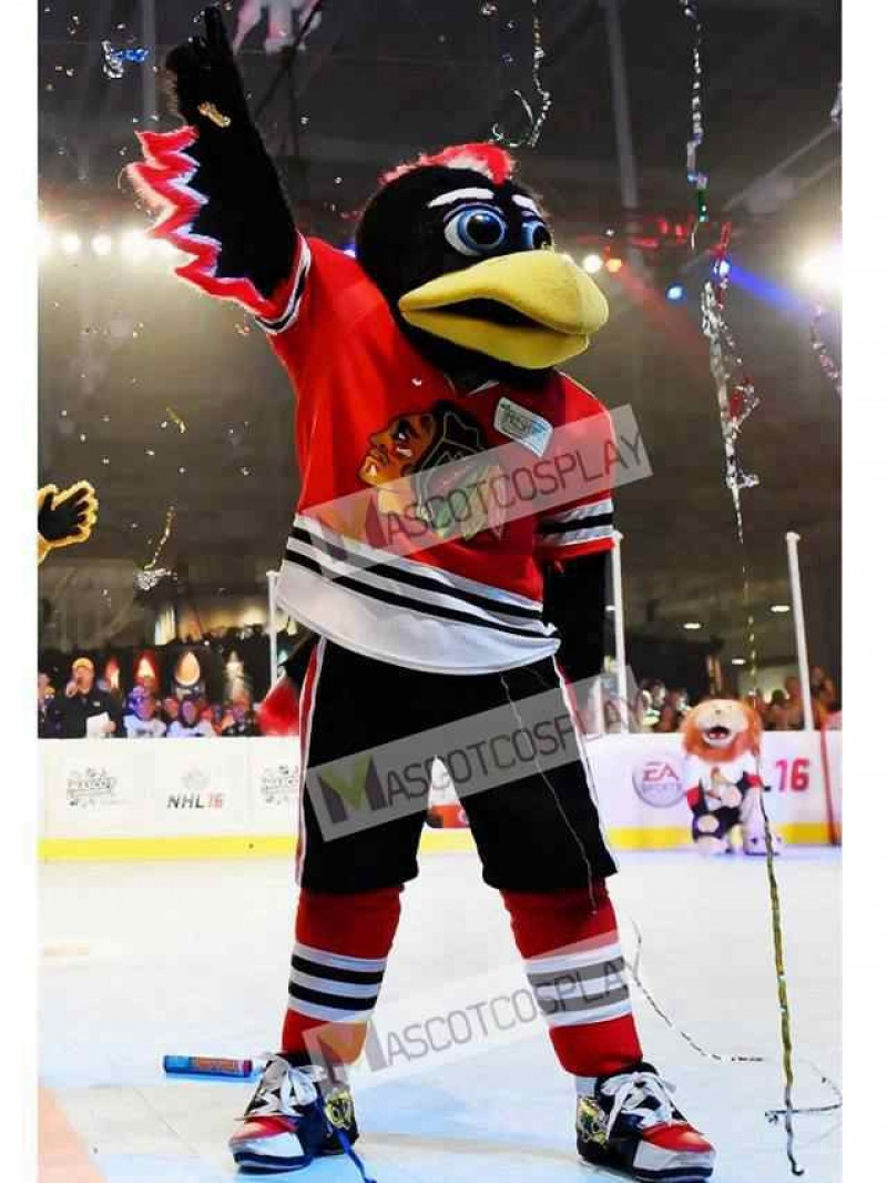 Chicago Blackhawks Tommy Hawk Mascot Costume