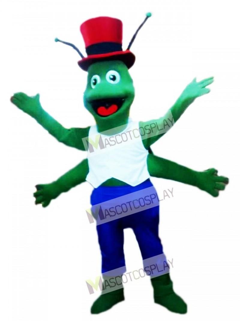 Green Grasshoppers Mascot Costume