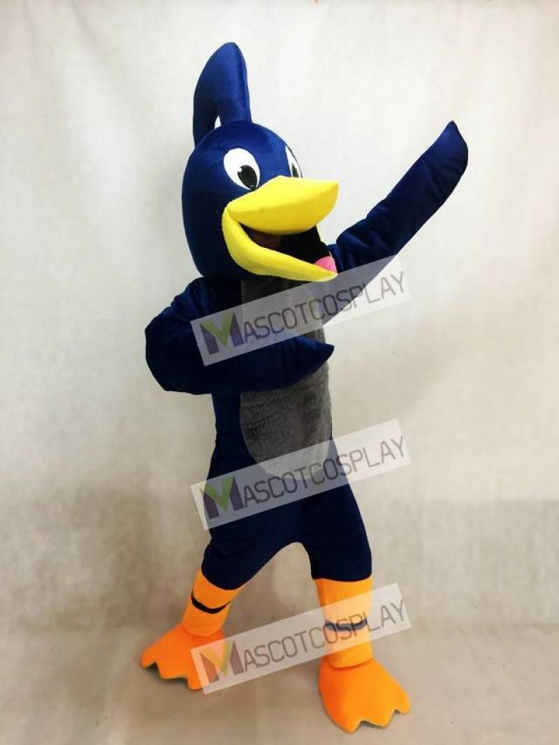 Adult Navy Blue Roadrunner Mascot Costume