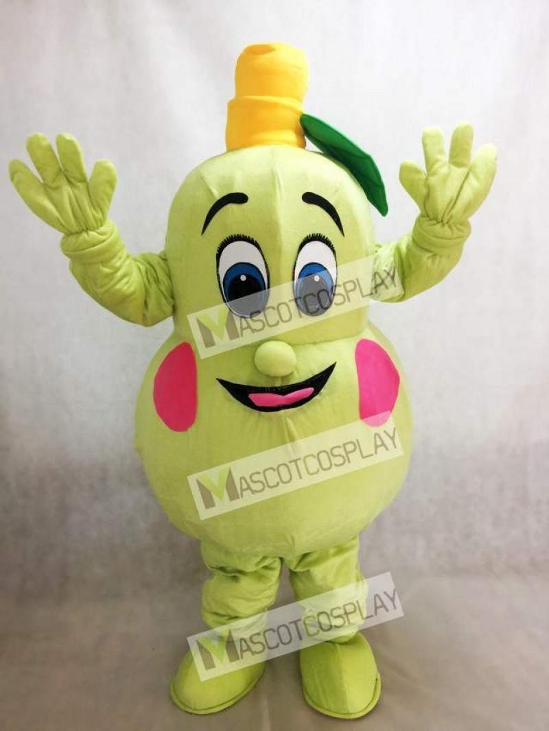Fresh Pear Mascot Costume Fruit