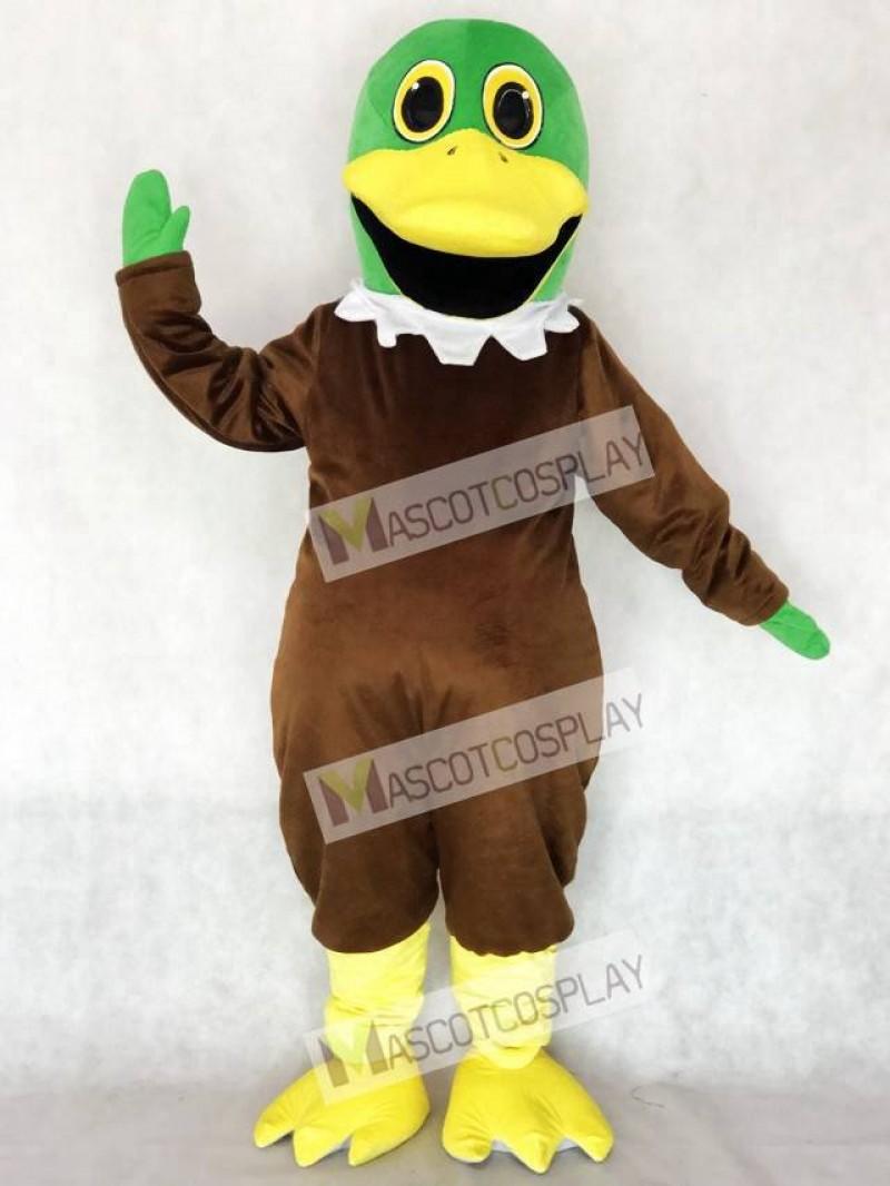Cute Mallard Duck Mascot Costume Animal