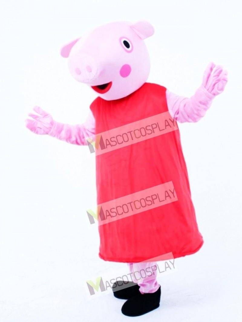 Pink Piggy Pig Piglet Mascot Costume