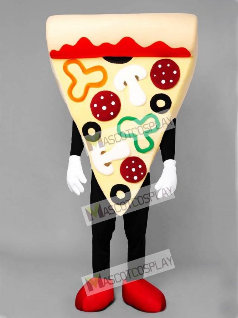 Pizza Slice Mascot Costume