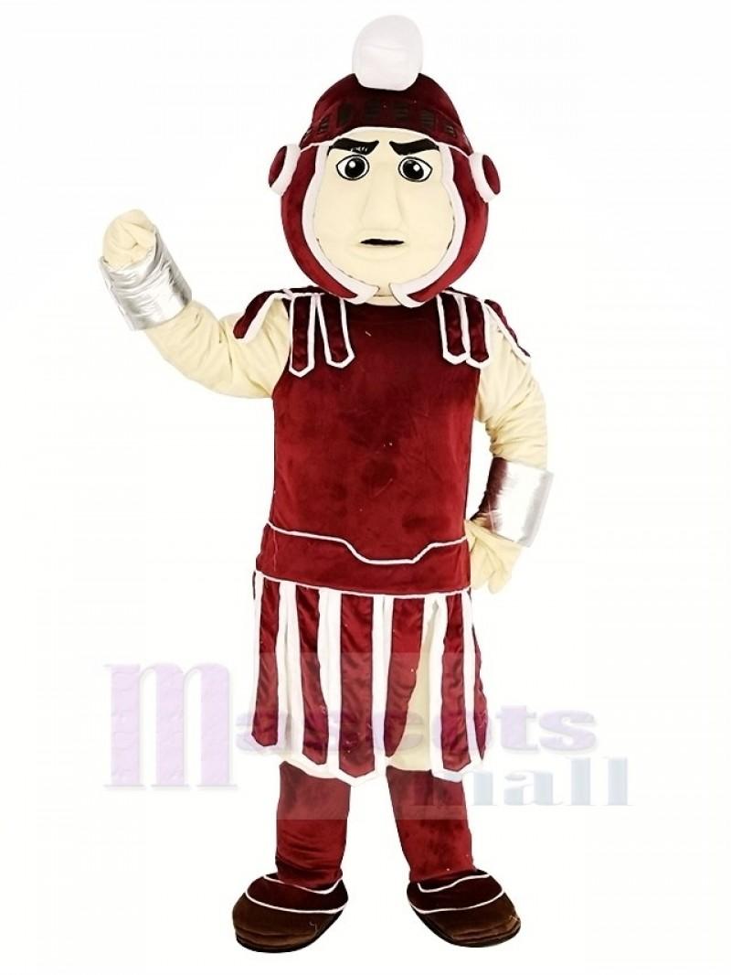Maroon Titan Spartan Mascot Costume People