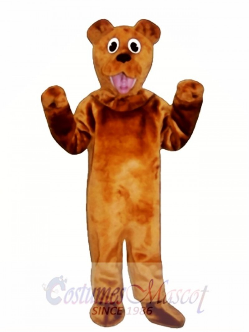 Cute Bear Mascot Costume