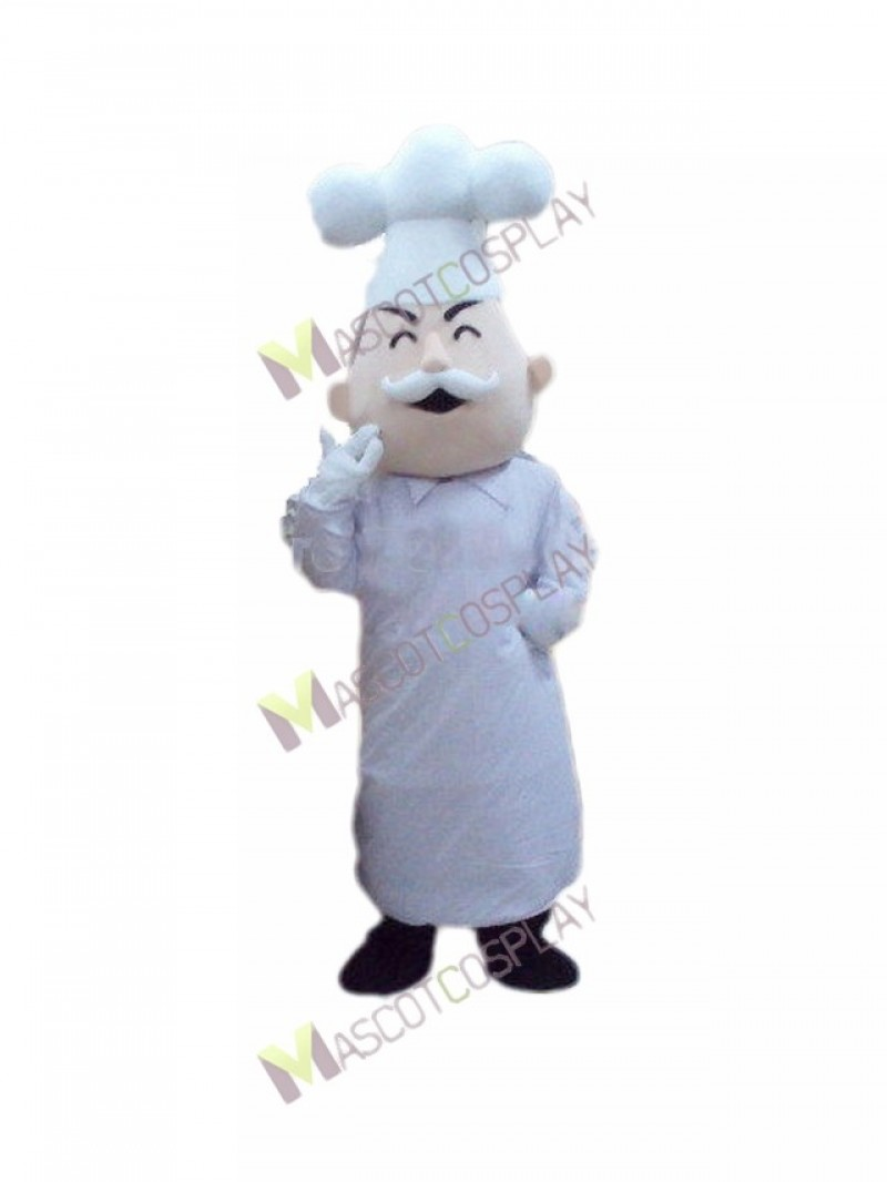 High Quality Adult Baker Cook Italian Chef Mascot Costume